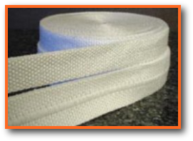 Heat resistant tape high temperature chemical for Fiberglass insulation fire resistance